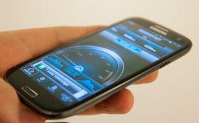 Galaxy S III 4G gir svært raske målinger hos Speedtest.net.