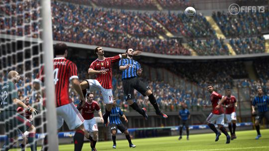 Zlatan i aksjon i FIFA 13.