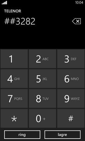 Legg til en firkant til, og telefonen går inn i en skjult meny på egen hånd.