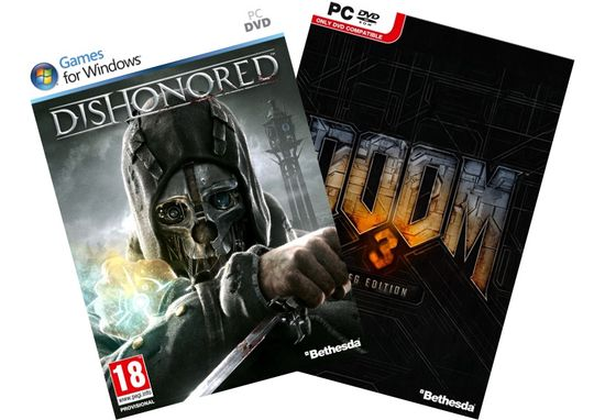 Dishonored og Doom 3: BFG Edition.