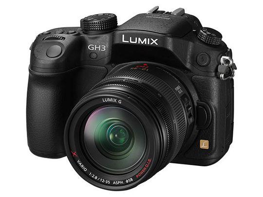 Panasonic Lumix DMC-GH3. Obs! Objektiv følger ikke med.