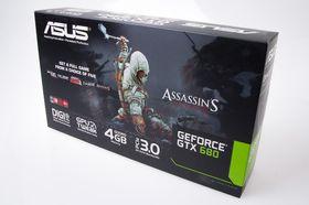 Asus GeForce GTX 680 DirectCU II: Produkteske.