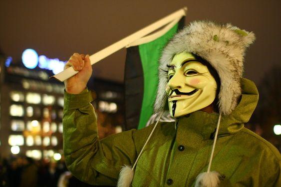 DLD-demonstrasjon i Oslo.