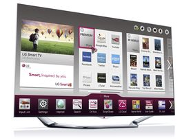 LGs nye LED-LCD-toppmodell LA8600.