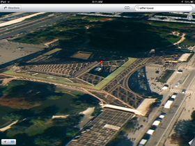 Apple Maps har vært gjenstand for mang en latterliggjøring siden lanseringen. Dette skal forestille Eiffeltårnet.