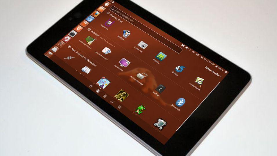 Ubuntu-mobilen kan komme i kveld