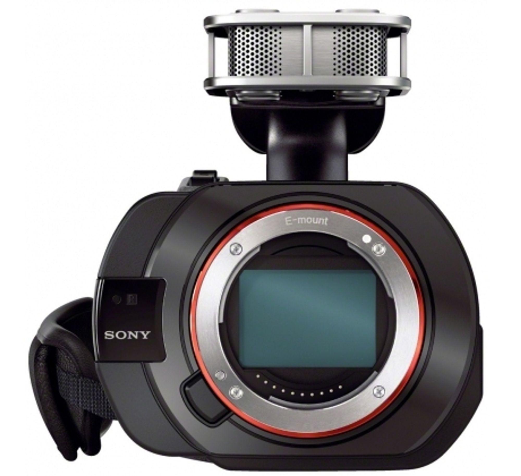 Sony NEX-VG900E.