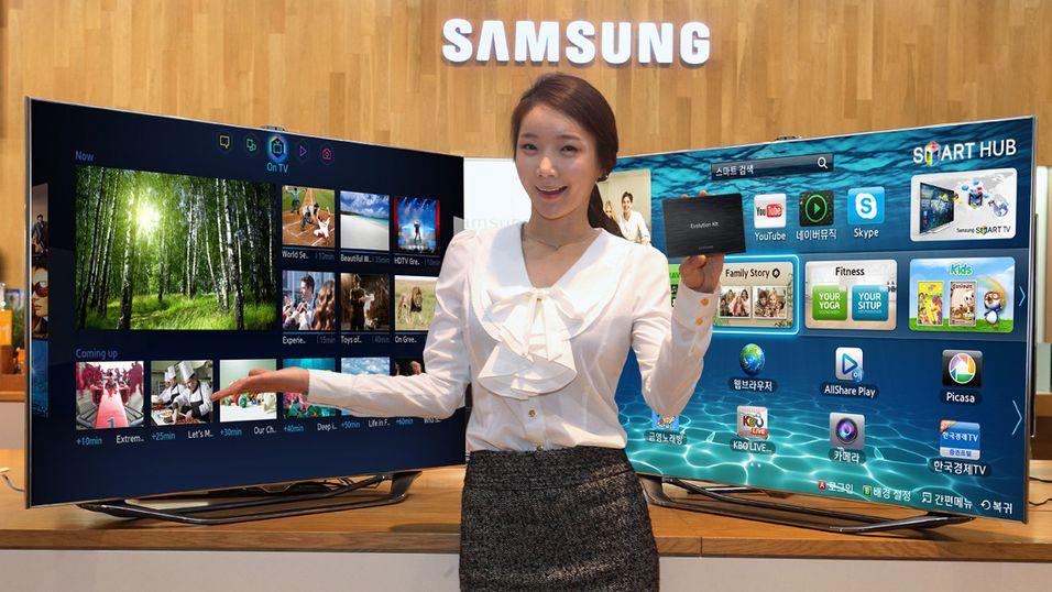 Med Samsungs Evolution Kit skal du kunne oppgradere din «gamle» 2012-modell til de nyeste TV-ene fra 2013.