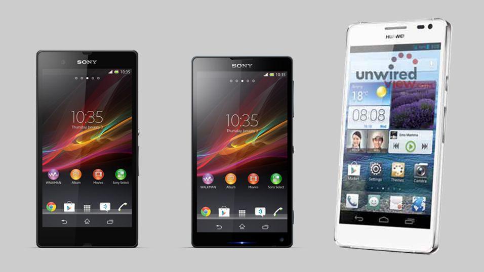 Nye flaggskip fra LG, Sony og Huawei vises på CES
