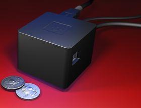 CuBox Pro måler 55 x 55 x 42 mm og bruker mindre enn tre watt under HD-avspilling.