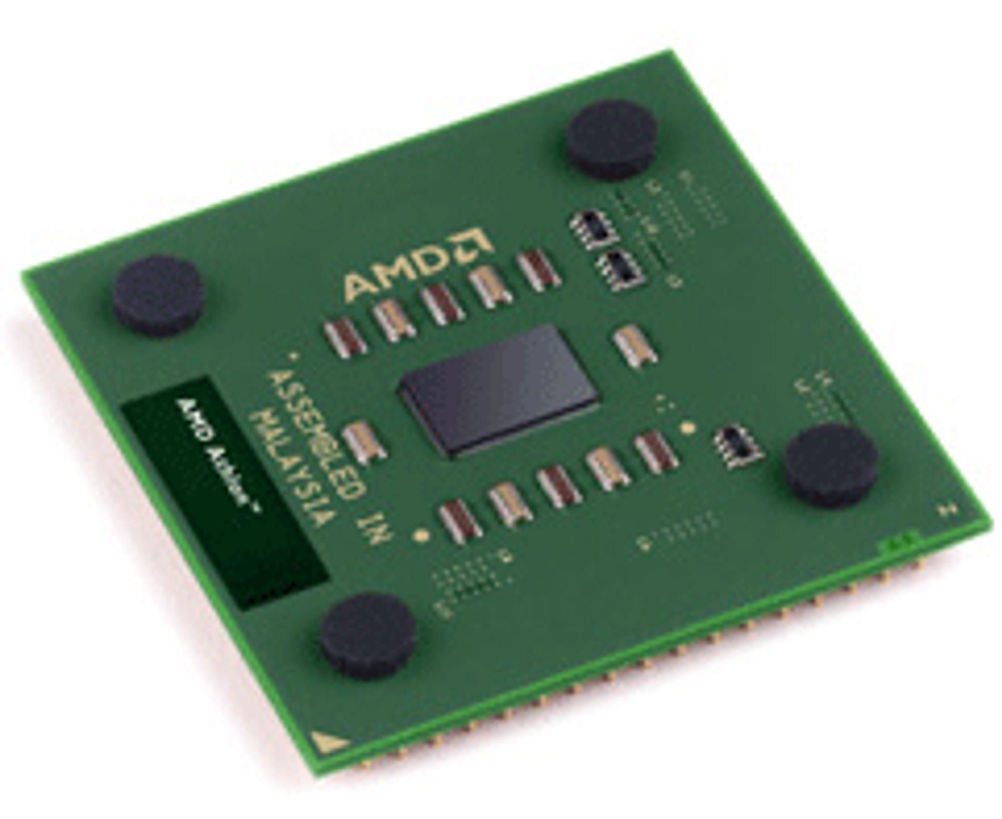 AMD Athlon XP 2600, uten varmespreder.