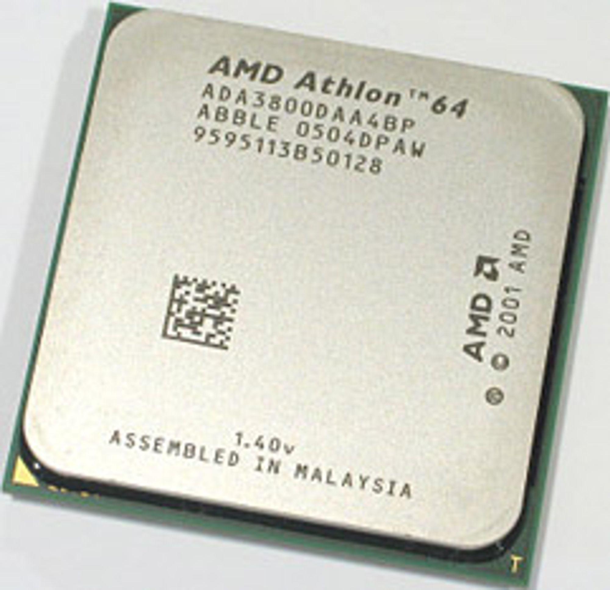 AMD Athlon 64 3800+, med varmespreder.