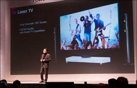 Laser-TV-en fra LG fikk veldig lite oppmerksomhet, men virker som et spennende produkt.