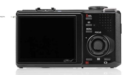 Sigma DP3 Merrill er utstyrt med en tre tommers TFT-skjerm, med 920.000 bildepunkter.