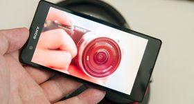 Sony har benyttet de to siste CES-messene til å slippe toppmodeller. Her er Xperia Z, som ble sluppet i januar i fjor.