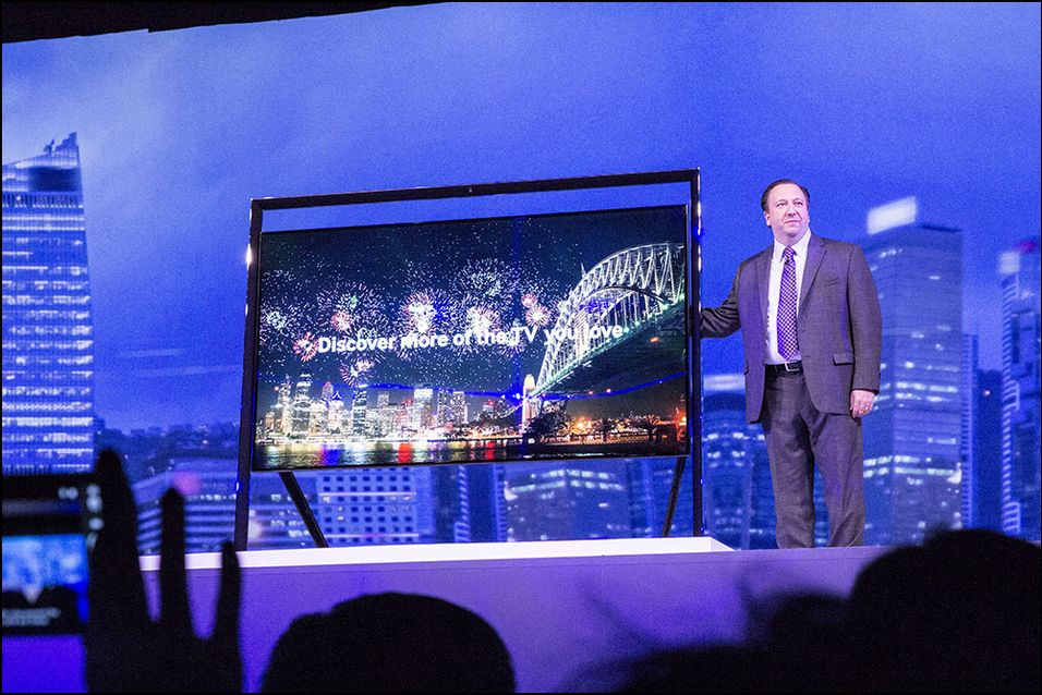 Her er Samsungs mystiske nye TV