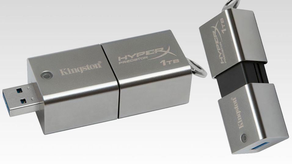 Denne lille minnepinnen holder en hel terabyte