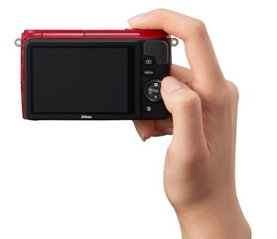 Nikon 1 S1 uten modushjul.