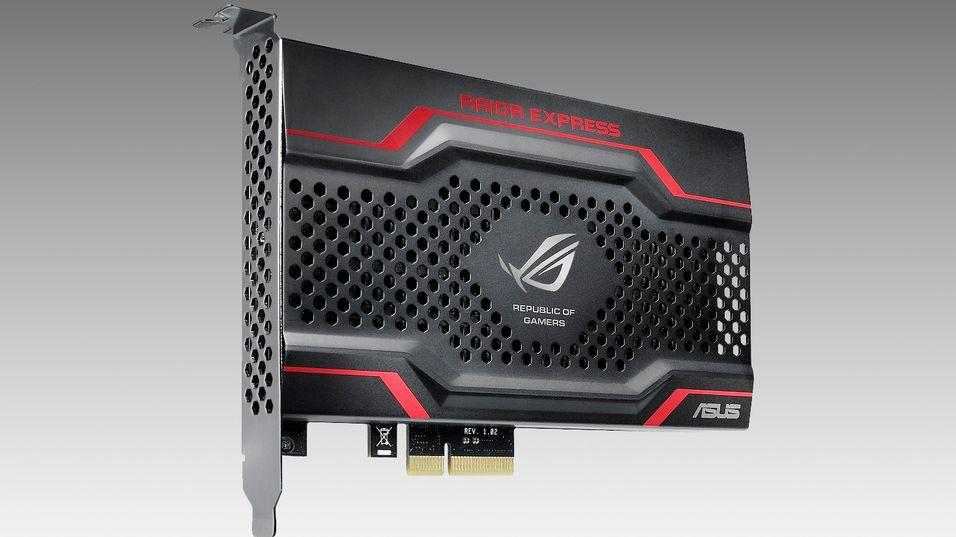 Asus slipper sin første SSD