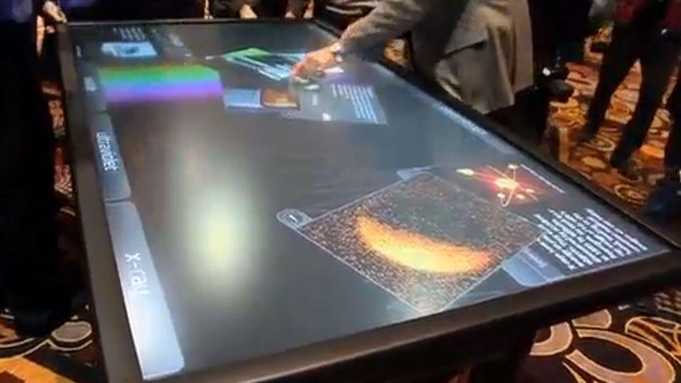 3Ms enorme berøringsbord.
