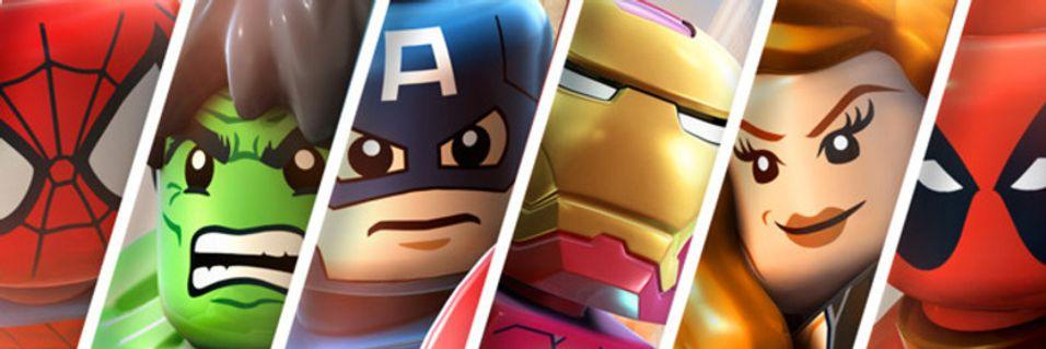 LEGO møter Marvel