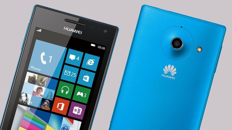 Her er Huaweis første Windows Phone 8-mobil