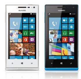 Huawei Ascend W1 fås i både hvitt og blått.