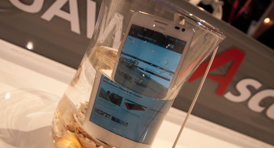 SNIKTITT: Huawei tar opp kampen med supermobilene