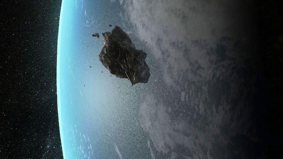 «ØDELEGGEREN»: Onsdag 9. januar 2013 passerer asteroiden Apophis - oppkalt etter en egyptisk demon kjent som Ødeleggeren - jorden. Da håper forskere at de mer nøyaktig kan beregne risikoen for om asteroiden kan komme til å treffe jorden ved passeringen i 2036.