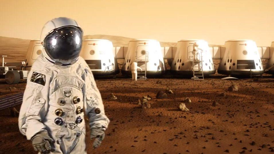 Nå kan du bli astronaut på Mars. Men du må være på den sikre siden, fordi dette er en énveistur.