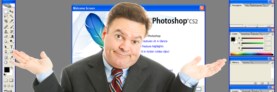 Photoshop CS2 er ikke gratis likevel