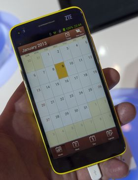 Kalenderen har blitt frisket opp voldsomt i forhold til standardkalenderen i Android.