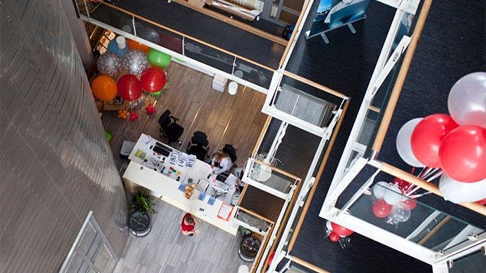 Programvareselskapets lokaler i Oslo er bare ett av 13 kontorer verden rundt.