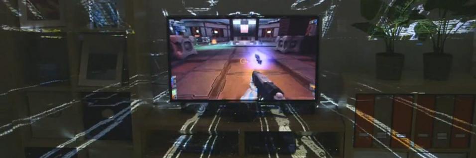 Microsoft bruker hele stua med ny spillteknologi