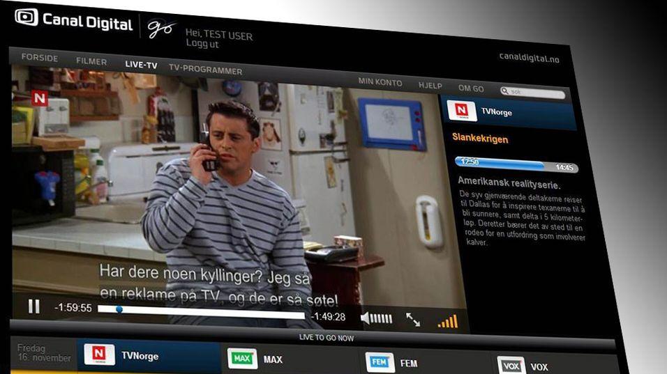 Canal Digital legger TV-kanalene rett på nett