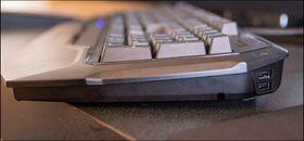 Ryos er faktisk ikke så høyt som mange andre mekaniske tastaturer.