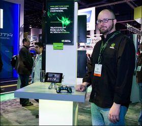 Chad Cooper er en ingeniør ved Nvidia, og har jobbet med Grid-prosjektet lenge.
