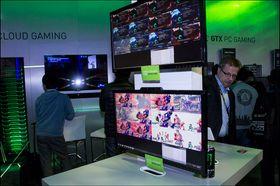 På en skjerm viste de drøssevis av Street Fighter-strømmer som ble spilt samtidlig.
