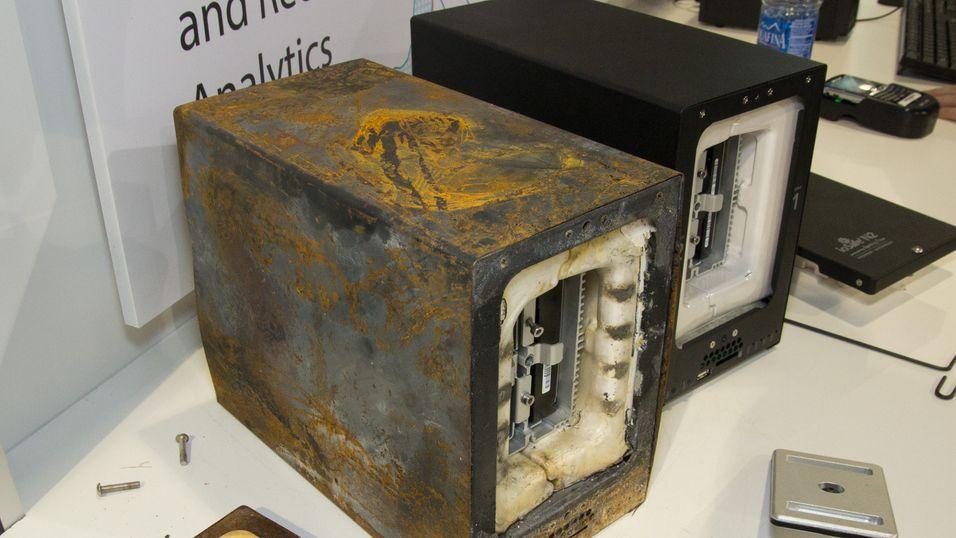Denne NAS-en ler av både flammer og kjeltringpakk
