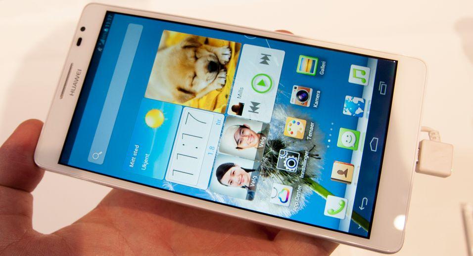 SNIKTITT: Vi klår på «verdens største mobiltelefon»