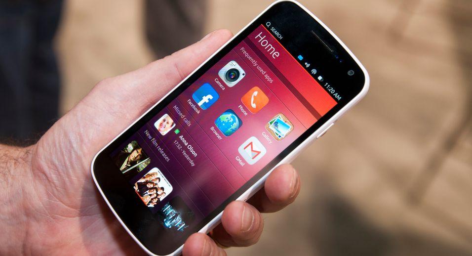 SNIKTITT: Slik fungerer Ubuntu på mobiltelefonen