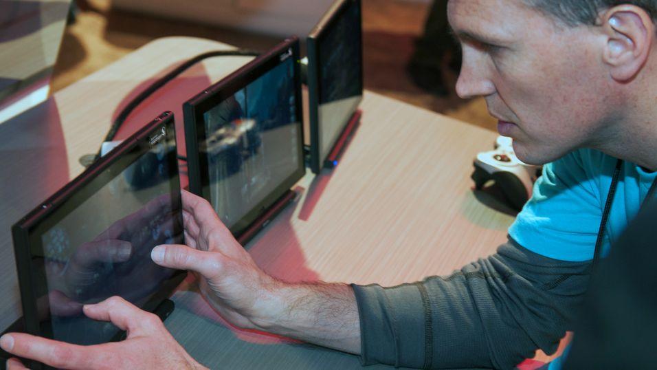 Qualcomm Snapdragon S800 åpner for heftig spillgrafikk på nettbrett.