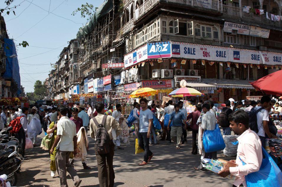 Gigantbyen Mumbai er naturlig nok svært interessant for mobiloperatører som Telenor. I mars kommer frekvensene her på auksjon, til 30 prosent lavere minstepriser enn i november.