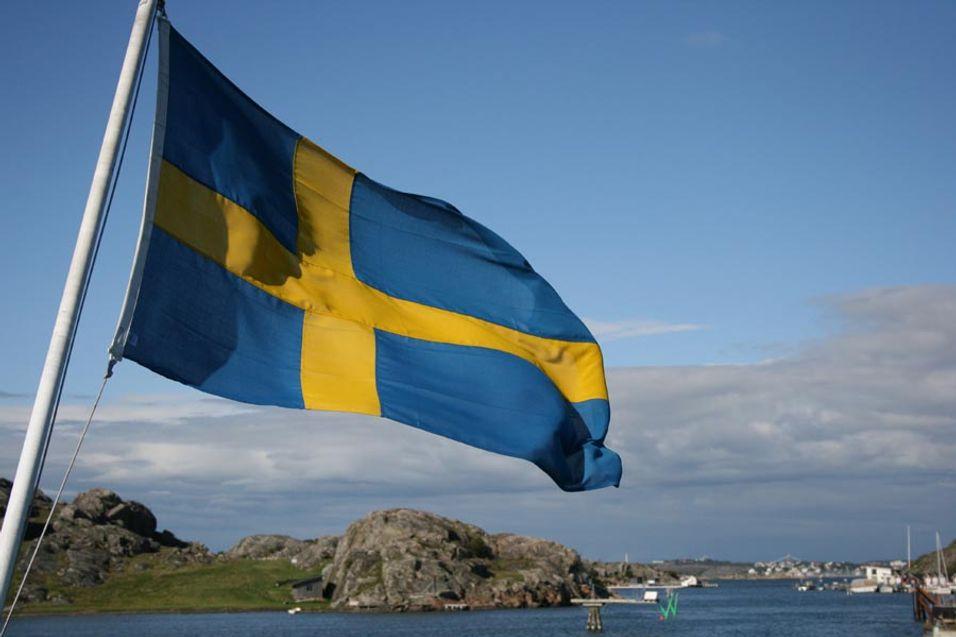 Slås på nødstrøm av svenskene