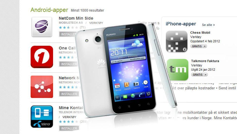 Applikasjoner til Ios og Android solgte bedre enn noen gang i 2012, noe som er med på å sementere smarttelefonenes popularitet.