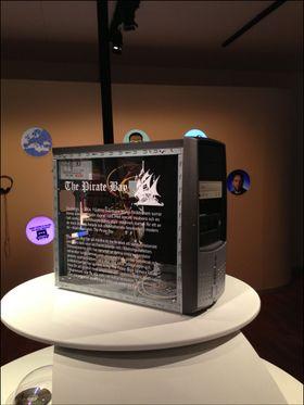 En av de første Pirate Bay-serverne.