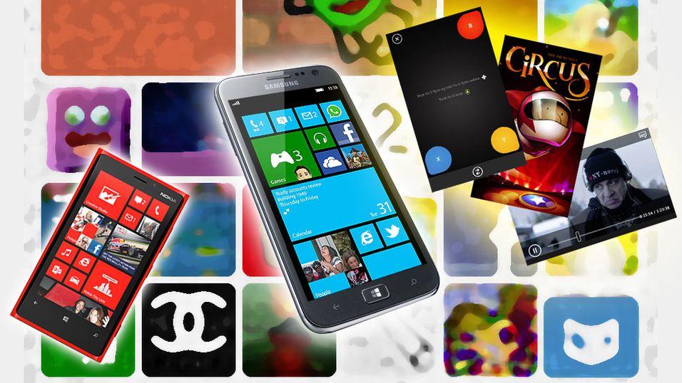 Spennende apper til Windows Phone
