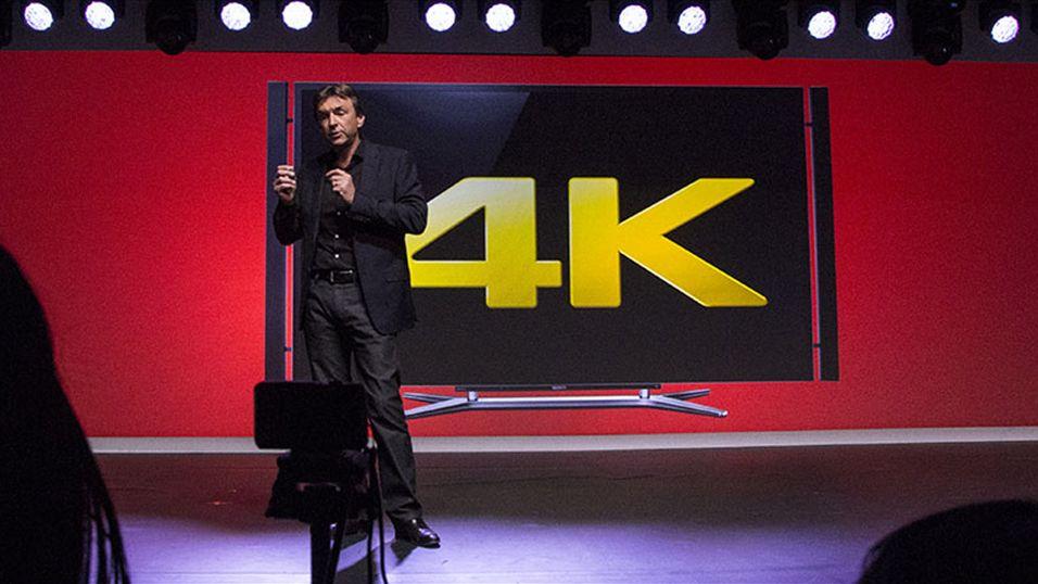 Sony viste fram 4K-TV-er under den nylig overståtte CES-messen i Las Vegas.