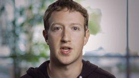 Facebooks grunnlegger og toppsjef, Mark Zuckerberg.