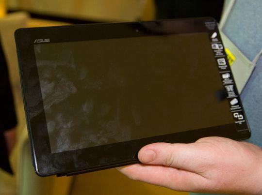 Asus kommer på banen med et ekstra billig nettbrett, som kjører fullversjonen av Windows 8.